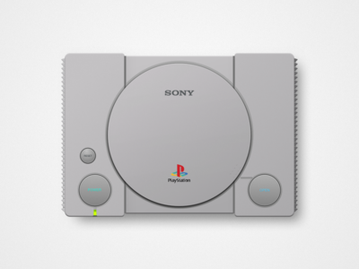 PlayStation Classic sketch classic playstation