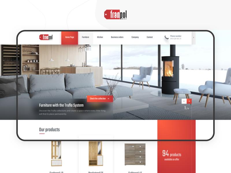 Furniture catalogue ui cepixel shopping website webdesign modern design ecommerce store furniture shop