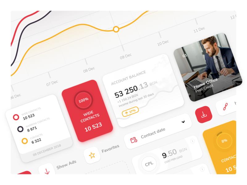 Finance Affiliate Platform fintech finance cash affiliate banking bank loan custom software statistics chars chart webdesign stats cepixel mobile