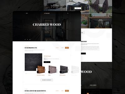 Charred wood website wooden black organic texture oriwood charred wood wood cepixel website webdesign