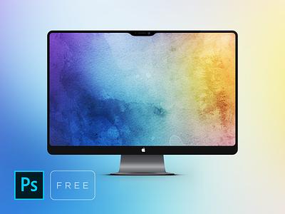 iMac Pro Free Mockup cepixel download freebie free imac desktop mockup