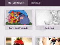 Sarahlj.com now with Sketchnote webfont