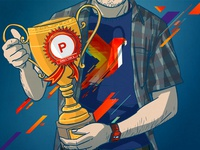 Product hunt - product of the day artwork