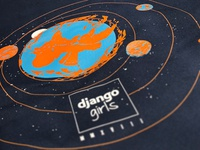 Django Girls Artwork 2k18