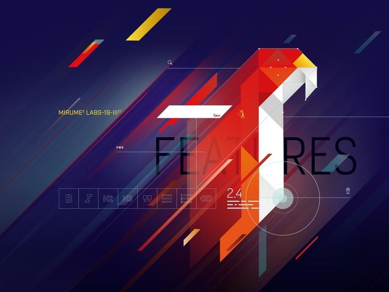 Mirumee Labs / Saleor Features / Remix branding webdesign artwork mirumee quality design illustration