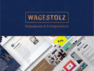 Wagestolz classy logo branding userinterface platform innovate web classy digital