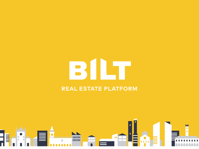 BILT - Real Estate Platform rental logo rental house real estate branding real estate agency real estate logo real estate realestate