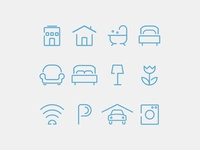 Icon Set - Apartment