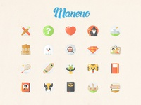 Maneno icons
