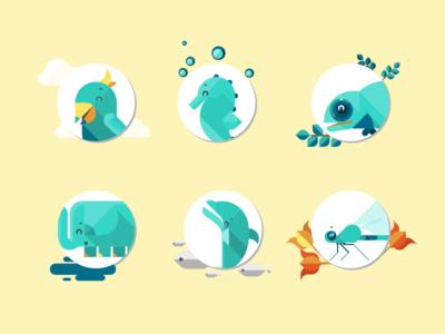 Mascots avatars