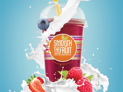 Smoothie poster smoothie poster ad fruit fresh milk
