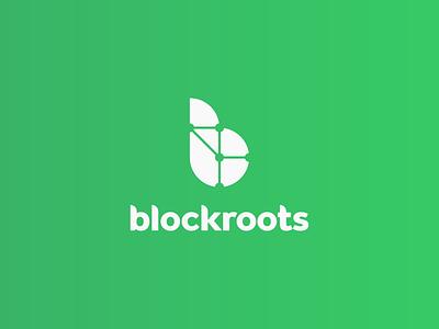 Blockroots szczecin logo cryptocurrency branding cryptocurrency blockchain cryptocurrency logo design logo