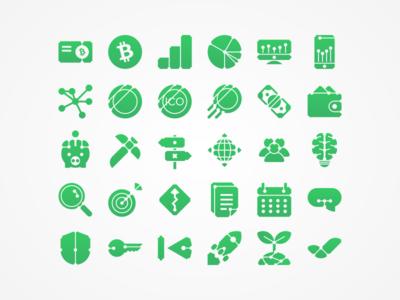 Blockroots Icons