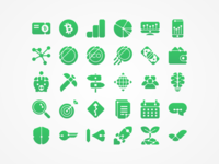 Blockroots Icons