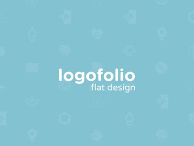 Logofolio - Flat design
