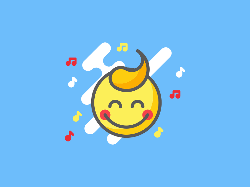 Kids Deejay Icon happy design kids kid icon app application icon iconography icons icon
