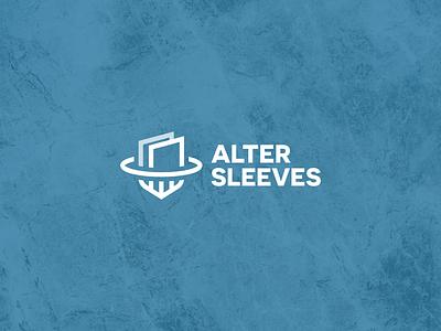 Alter Sleeves Logo card art card  game sleeve branding agency branding brand logos mtg protection logo cards