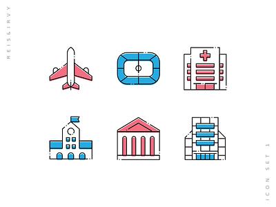 Reis & Irvy icon set industrial icon branding icon app icon icon app icon pack iconpack icon set iconset icon icons