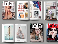 Editorial design - Lola Magazine