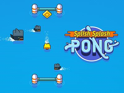 Splish Splash Pong casual duck cube ipod ipad iphone arcade ios game