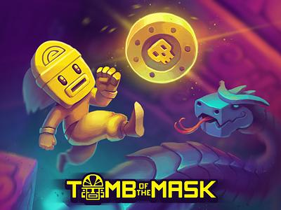 Tomb of the Mask art hardcore ipod ipad iphone arcade ios game