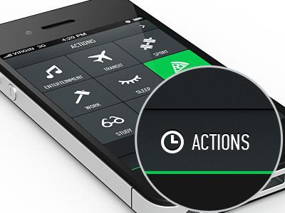 Lifemeter UI ui icons app timetracker metro minimal grlmc
