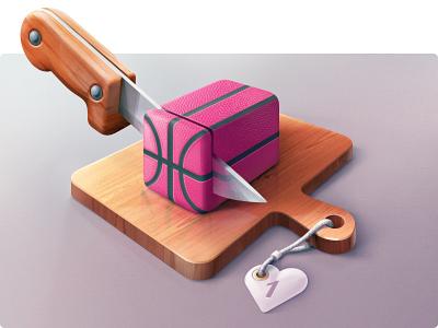 For fun Dribbble illustration digital art dribbble basketball grlmc