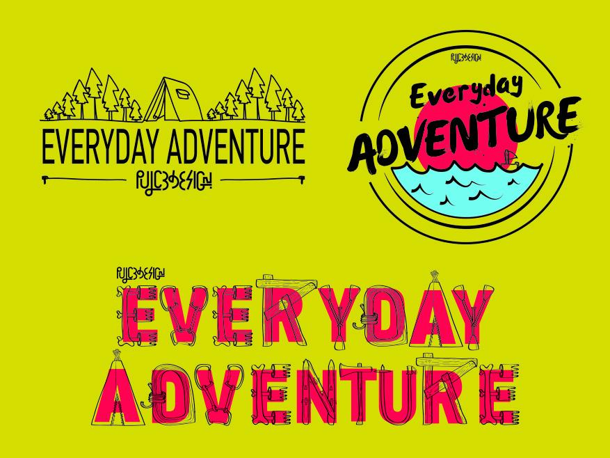 Everyday Adventure patagonia everyday adventure logo pulcedesign illustration brand
