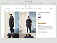 Ecommerce Product Page ( Massimo Dutti )