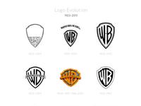 Warner bros logo evolution