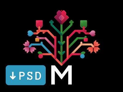 Moldova Logo - Kinda Flat psd vegetable fruits flower wine rose kinda flat flat logo difiz chisinau moldova