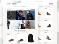 Online shop for men — Prontoboss