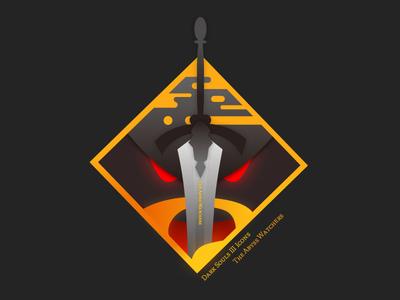 Dark Souls III Icon: The Abyss Watchers dark souls badge icon