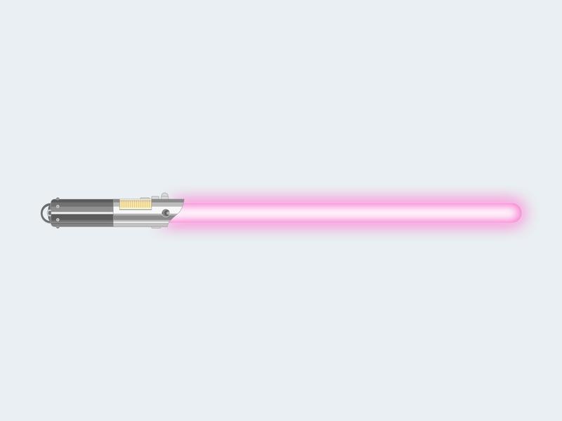 DribbbleSaber lightsaber starwars
