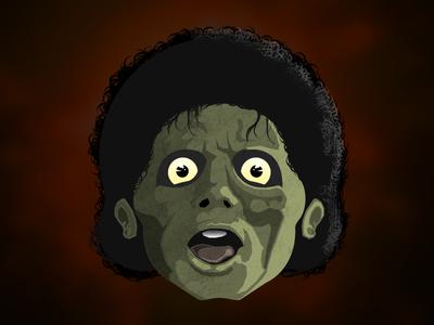 Micheal Jackson Zombie Dribbble
