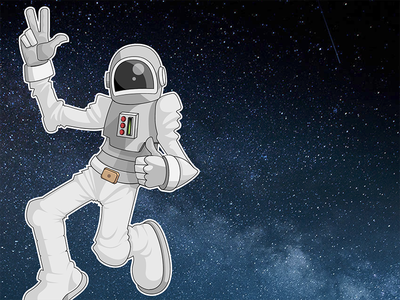 The Astronaut spacewalk deep space outer space space city astronaut space