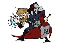 Thor Dribbble