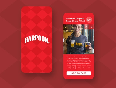 Harpoon Brewery Apparel mobile