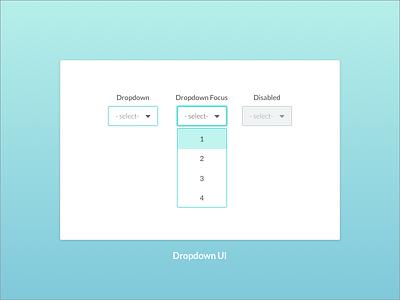 Dropdown UI leeseul mint learning style guide ui dropdown