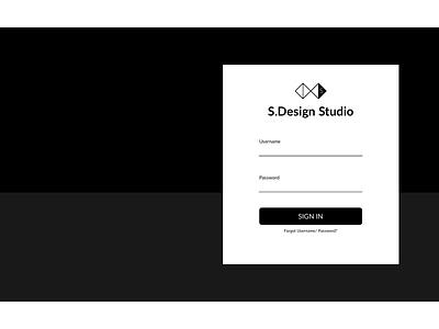 Sign In leeseul dailyui 001 dailyui sign up user interface minimal simple design studio ui sign in