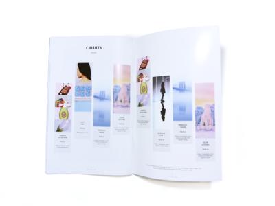 Magazine Design leeseul production print design photography layout magazine