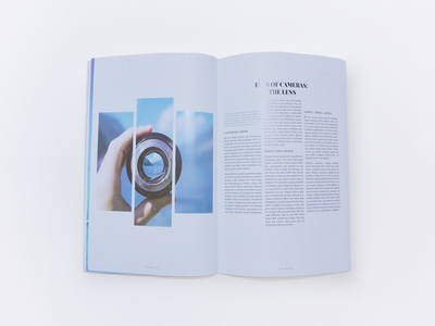 Magazine Design leeseul production print design photography magazine clean minimalism layout