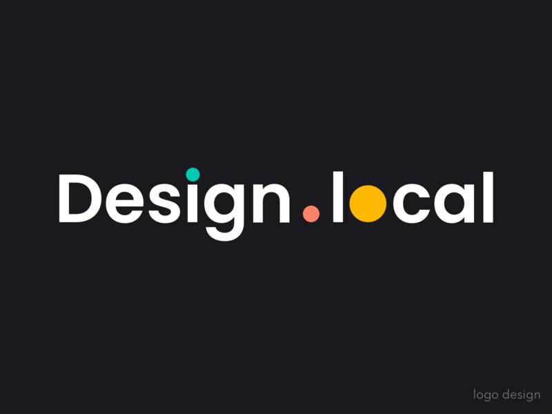 Design.local Logo Design design design.local leeseul witty branding clean logo design logo