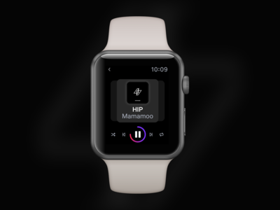 Music Player on Apple Watch