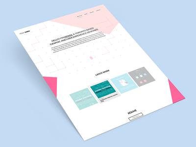 Portfolio ui website portfolio design