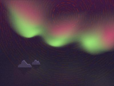 Flashing Lights smashing magazine northern lights april wallpaper illustration vector