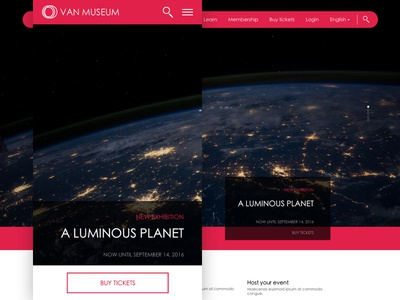 Website concept personal project web design sketch ui layout