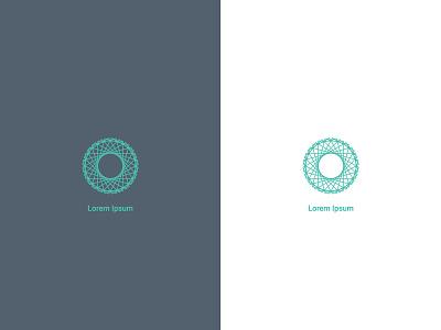 Logo concepts pattern icon furniture concept logo