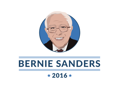 Bernie Sanders political election bernie 2016 bernie sanders politics design illustration