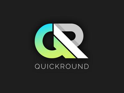 Quickround Logo Design
